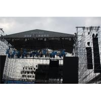 Buy cheap Black Indoor Layer Speaker Truss Aluminum Loading LED System 300x300 mm from wholesalers
