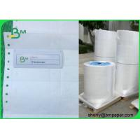 Buy cheap 1025D Waterproof Coated Tyvek Printer Paper Self - adhesive Fanfold Barcode Labels product