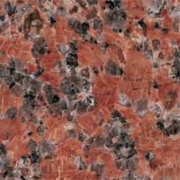 Buy cheap Maple Red Granite Tiles product