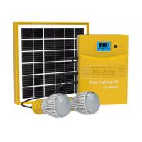 Portable solar system DC 5W Solar lighting kit colorful /Super Bright Phone charger