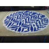 Buy cheap Factory supply Cheap Price Small MOQ 100% cotton  turkish round beach towel from wholesalers