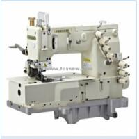 Buy cheap 3-Needle Flat-bed Double Chain Stitch Machine for lap seaming from wholesalers