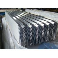 Buy cheap Galvanized Aluzinc 22 Gauge Corrugated Steel Roofing Sheet 600mm-1250mm from wholesalers