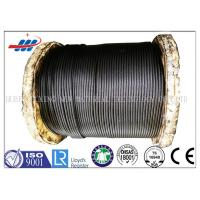 Buy cheap High Carbon Rope Ungalvanized Steel Wire Rope , High Tensile Steel Core Wire Rope from wholesalers