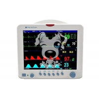 Buy cheap 5 Parameter Patient Monitor Pet Use Multi Parameter Monitoring System for Vet Animal Patient Monitoring Devices from wholesalers