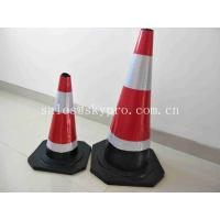 Buy cheap Road Soft Plastic Fluorescent Flexible Roadway Safety Rubber Traffic Cones from wholesalers