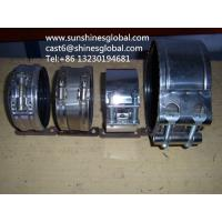 Buy cheap Stainless Steel Couplings with EPDM Rubber/SML Grip Clamps/Rapid Couplings from wholesalers