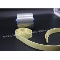 Buy cheap Yellow Durable Aramid Tape / Garniture Tape , High Temperature Insulation Tape product