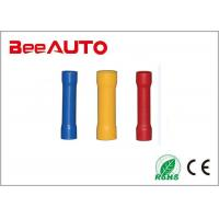 Buy cheap BV Series Butt Splice Insulated Crimp Terminals Tin Plated Copper / Brass / Vinyl from wholesalers