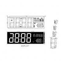 Buy cheap Pin Connector HTN LCD Screen LCD Digit Calendar Clock Display from wholesalers
