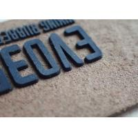 Buy cheap Personalized Logo Garment Leather Patch Custom Embossed Jeans Leather Patch Label from wholesalers