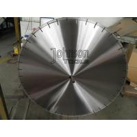 Buy cheap Narrow U Slot 600mm Laser Diamond Saw Blade for Coral Rock / Concrete Cutting from wholesalers