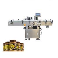 Buy cheap High Accuracy Adhesive Bottle Sticker Labeling Machine For Peanut Butter Bottle from wholesalers