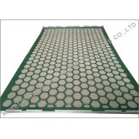 Buy cheap 1050 x 695mm Shaker dewatering screens L Hookstrip Bonded Layers API Standard from wholesalers