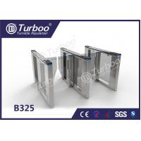 Buy cheap Optical Swing Barrier Gate , Fingerprint Controlled Access Turnstiles Security Gate from wholesalers