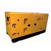 Buy cheap 50Hz / 60Hz Soundproof Generator 48KW / 60KVA Diesel Generator With Cummins Engine product