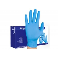 Buy cheap Medical Grade Blue Nitrile Exam Gloves from wholesalers