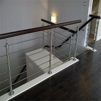 Buy cheap Decorative wrought iron railings with solid rod bar design product