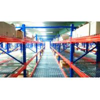 Buy cheap Structural Pallet Rack Mezzanine Systems Corrosion Protection Raised Storage Area from wholesalers