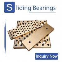 China Oil Free Plugged Graphite Slide Bearing Plates on sale