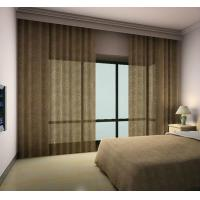 Buy cheap Motorized control Blackout bedroom curtain from wholesalers