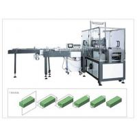 Buy cheap Auto Feeding Box Drawing Facial Tissue Paper Packing Machine , PLC Control from wholesalers