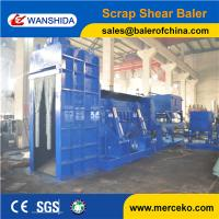 Buy cheap PLC automatic control Scrap Metal Shear Baler to cut and press waste stainless steel with Diesel Engine drive from wholesalers