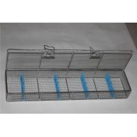 Buy cheap Endoscope Trays Surgical Instrument Sterilization Containers Stainless Steel Wire Mesh Basket from wholesalers