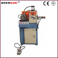 Buy cheap Single End Chamfering Machine For Metal Pipe / Tube / Solid Bar Chamfer and End Facing from wholesalers
