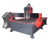 Buy cheap 1300*3000mm Table Type CNC Plasma Flame Cutting Machine with 200A Plasma Power Supply product