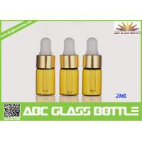 Quality Factory Sale 2ml Amber Tubular Glass Vial Oil Use for sale