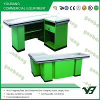 Buy cheap Modern retail , supermarket checkout counter cashier desk With CE , ISO9001 from wholesalers