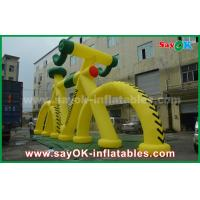 Buy cheap Customized Shape Giant Promotional Inflatable Bicycle Model with CE Blower from wholesalers