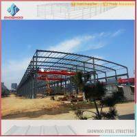 Buy cheap Showhoo Steel Structure Types Of Construction Steel Structure Metal Shed Building Warehouse from wholesalers