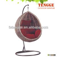 Buy cheap Egg Pod Hanging chair Swing Chair Water Drop Shaped Rattan Basket DL-14 from wholesalers