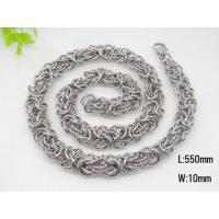 Buy cheap stainless steel chain necklece for men from wholesalers