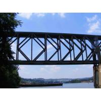 Surface Galvanized Long Span Bridge GB450 Easy Installation Steel Truss Bridge