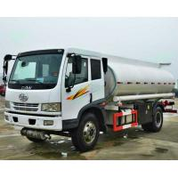 Buy cheap 10m3 Fuel tank truck, FAW Refuel Truck, Oil transport truck, refuelling truck from wholesalers
