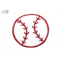 Buy cheap Fashionable Size Custom Baseball Patches Embroidery For T Shirt Logo from wholesalers