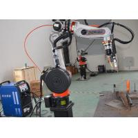 Buy cheap Aluminum Arc Welding Robot Cell , Mig Welding Equipment Workstation from wholesalers