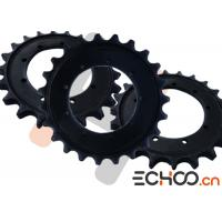 Pel Job - EB306 Undercarriage Sprockets / Black Roller Chain Sprockets High Strength