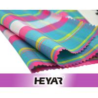 Buy cheap China Suppliers Cheap Cotton Polyester CVC 45S Lurex Yarn Dyed Plaid Gingham Shirt Poplin Fabrics Textile Wholesale from wholesalers
