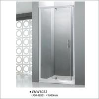 Buy cheap Glass Pivot Door Shower Enclosures With Frame Square Shower Stall Easy Install from wholesalers