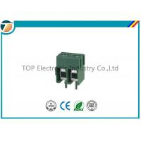 Buy cheap Pitch 5.0mm PCB Screw Terminal Block Connector 2 PIN Green Color product