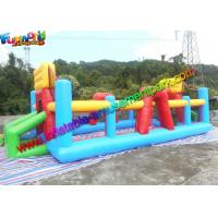 Buy cheap Three In One Inflatable Sports Games Volleyball Court Inflatable Football Field from wholesalers