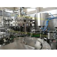 SUS304 Material Carbonated Drink Filling Machine 6.57KW For Sparkling Water / Sprite