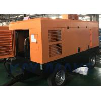Buy cheap Easy To Move Diesel Powered Air Compressor , 90 CFM Portable Air Compressor from wholesalers