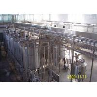 Buy cheap Low Fat Milk Production Line Fruit Flavored UHT Dairy Processing Machinery from wholesalers