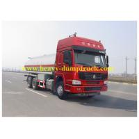 Buy cheap 24.05m3 Oil Transport Truck 6x4 drive , Oil Delivery Truck HW76 Cabin from wholesalers