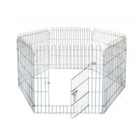 Buy cheap Powder Coated Metal Frame 42'' Large Puppy Pen from wholesalers